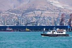Ships in a port Stock Photos