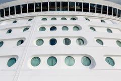 Ships Portholes Under Wide Bridge Royalty Free Stock Photo