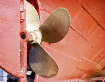 Ships propeller Stock Images