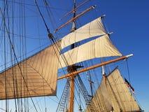 Ships sails Stock Photo