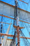 Ships Sails and Rigging Stock Photos