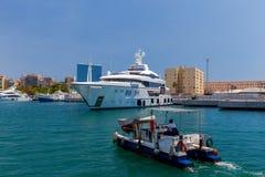 Barcelona. Sea port. Stock Photography