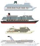 Ships set Stock Photo