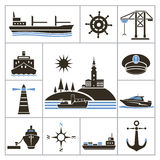 Ships Royalty Free Stock Photos