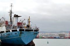 Ships at the shipyard Royalty Free Stock Photo
