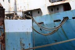 Ships at the shipyard Royalty Free Stock Photography