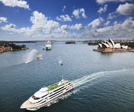 Ships Sy Harbour Voyager Royalty Free Stock Images