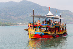 Ships in Thailand on the island of Koh Chang Stock Image