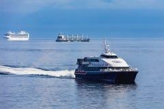 ships tre Arkivbilder