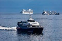 ships tre Royaltyfri Foto