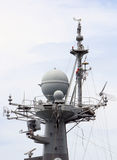 The ships used radar to detect. Royalty Free Stock Images