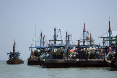 Ships, Teluk Bahang, Penang, Malaysia Stock Photo