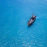 Ships of Waikiki. Pirate ship Waikiki Royalty Free Stock Photography