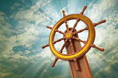 Ships wheel Royalty Free Stock Image