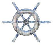 Ships wheel royalty free stock photography