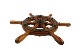 Ships wheel, made in studio Royalty Free Stock Photo