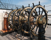 Ship's wheels Stock Photography