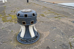 An Ships Winch Bollard Royalty Free Stock Photos