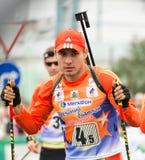 Shipulin-médaillé d'Anton des Jeux Olympiques Image libre de droits