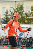 Shipulin-medallist de Anton dos Jogos Olímpicos Fotografia de Stock