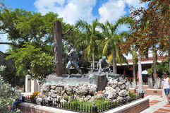 Shipworkers Memorial Key West Florida Royalty Free Stock Photos