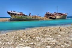 shipwreck Zdjęcie Stock