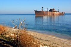 Shipwreck royalty free stock image