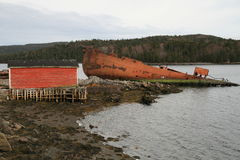 shipwreck Obraz Stock
