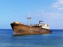 Shipwreck royalty free stock photo