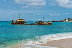 Shipwreck Royalty Free Stock Images