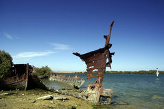 Shipwreck. Stock Image