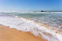 Shipwreck in the Atlantic ocean Royalty Free Stock Photos