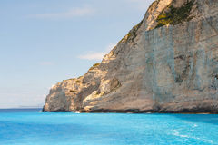 Shipwreck Bay, Navagio Beach Stock Photos