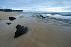Shipwreck Beach - Kauai, Hawaii, USA Royalty Free Stock Photos