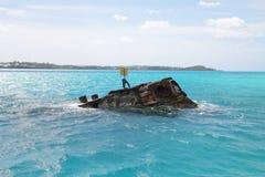 Shipwreck in Bermuda Royalty Free Stock Photos