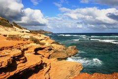 Shipwreck Brzegowa geologia zdjęcie royalty free