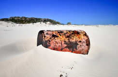 Shipwreck - Cape of Good Hope - South Africa Stock Image