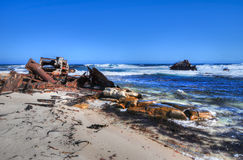 Shipwreck - Cape of Good Hope - South Africa Stock Photography