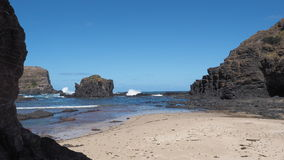 The shipwreck cost at Bushrangers Bay near Mornington Royalty Free Stock Photography