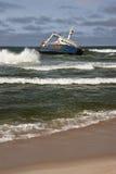 Shipwreck - costa de esqueleto - Namíbia Fotografia de Stock Royalty Free