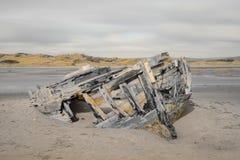 Shipwreck at crow point Stock Photos