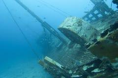 Shipwreck de madeira Foto de Stock Royalty Free