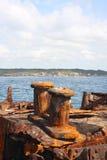 Shipwreck de SS Minmi em Sydney Imagens de Stock