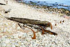 Shipwreck Royalty Free Stock Photography