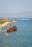 Shipwreck of the Dimitrios Royalty Free Stock Images
