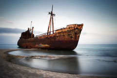 Shipwreck Royalty Free Stock Photo