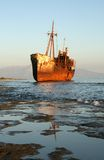 Shipwreck, Greece Stock Photography