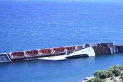 Shipwreck gull Royalty Free Stock Photo
