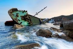 Shipwreck Stock Image