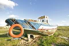 Shipwreck at Lagos Portugal Royalty Free Stock Image